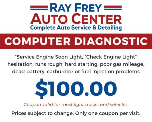 Computer Diagnostic Coupon