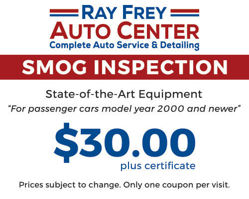 Smog Inspection Coupon
