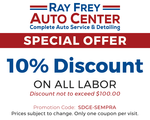 sdge and sempra offers ray frey auto center. Black Bedroom Furniture Sets. Home Design Ideas